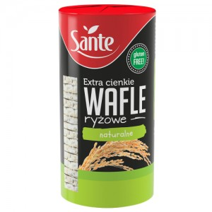 Wafle Ryżowe Naturalne 110g Sante